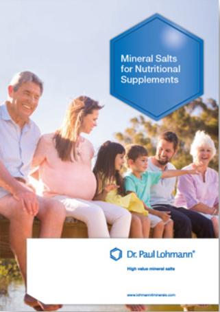 Sais Minerais para os Suplementos Alimentares